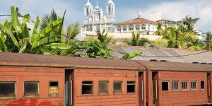 Stazione ferroviaria di Galle nello Sri Lanka