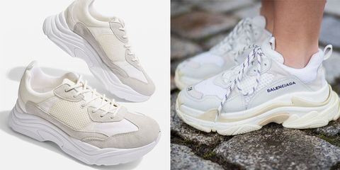 39be06def Topshop has restocked their sell-out  ugly  Balenciaga dupe trainers
