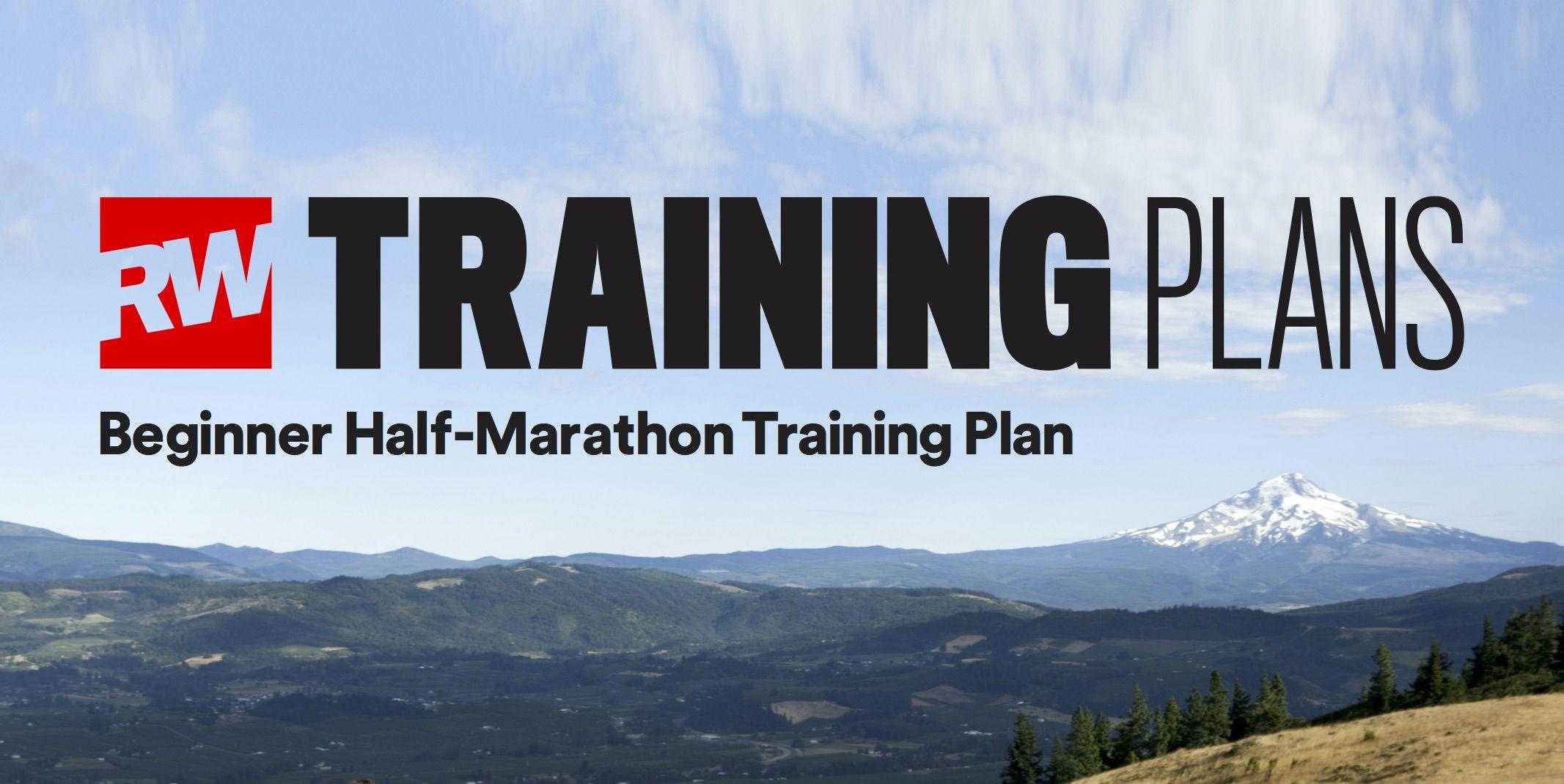 Beginner half marathon training plan