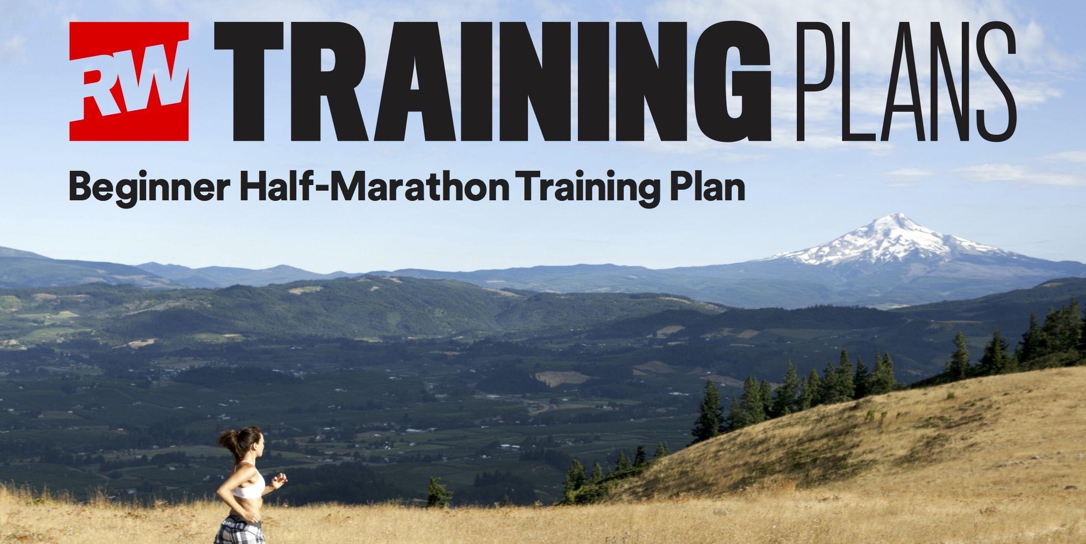 Beginner half marathon training schedule
