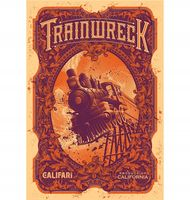 Marijuana strain poster Trainwreck from Califari