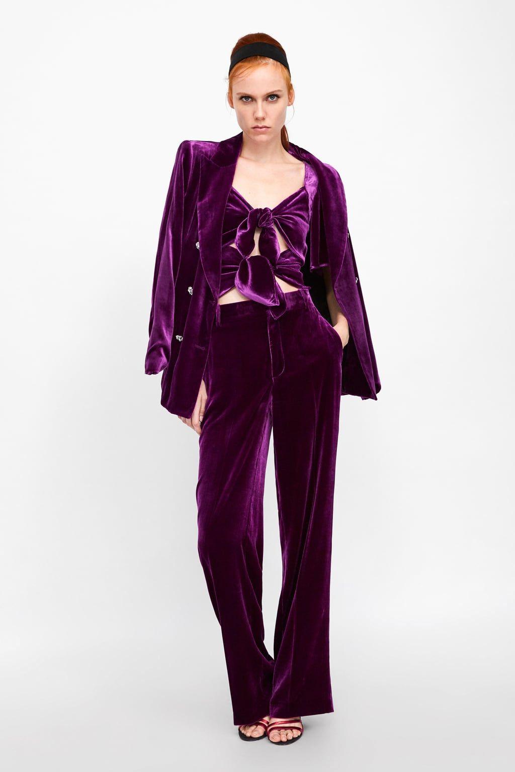 La Tendencia Y TerciopeloEl Dicta Zara Street Style TcK3ulF1J