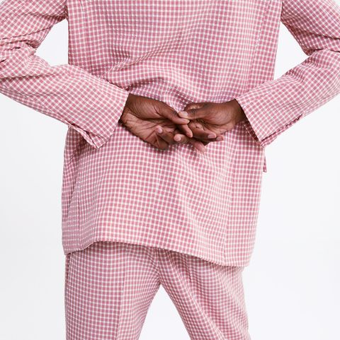 e849ef33 Este traje rosa de cuadros vichy de Zara recibe cientos de 'likes' cada ...