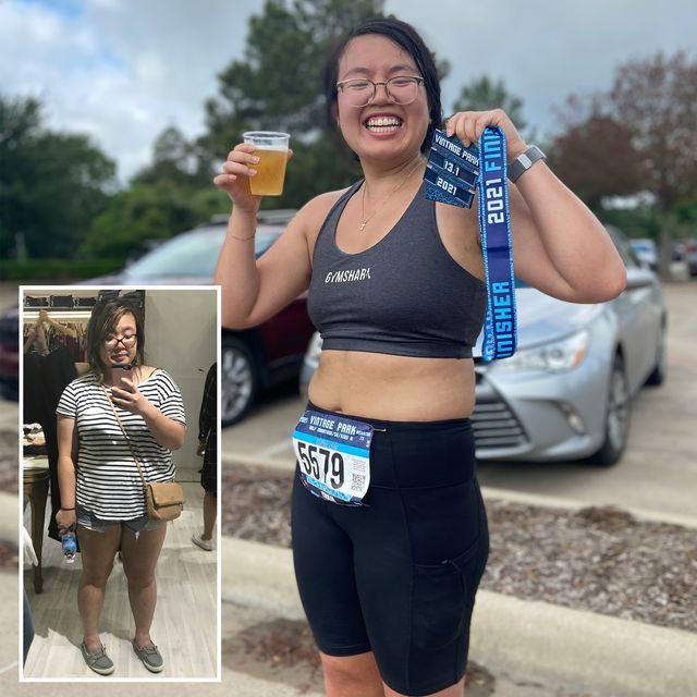 tram nguyen running weight loss