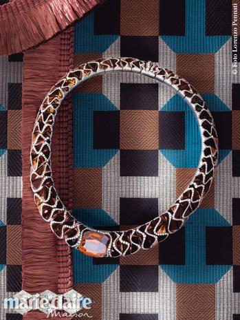 Pattern, Colorfulness, Symbol, Circle, Square, Mosaic, Bracelet, Body jewelry,