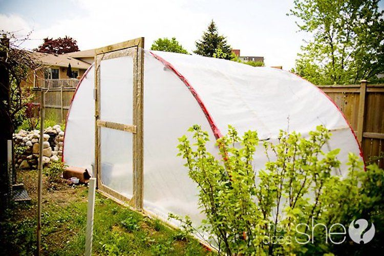 18 DIY Backyard Greenhouses - How to Make a Greenhouse