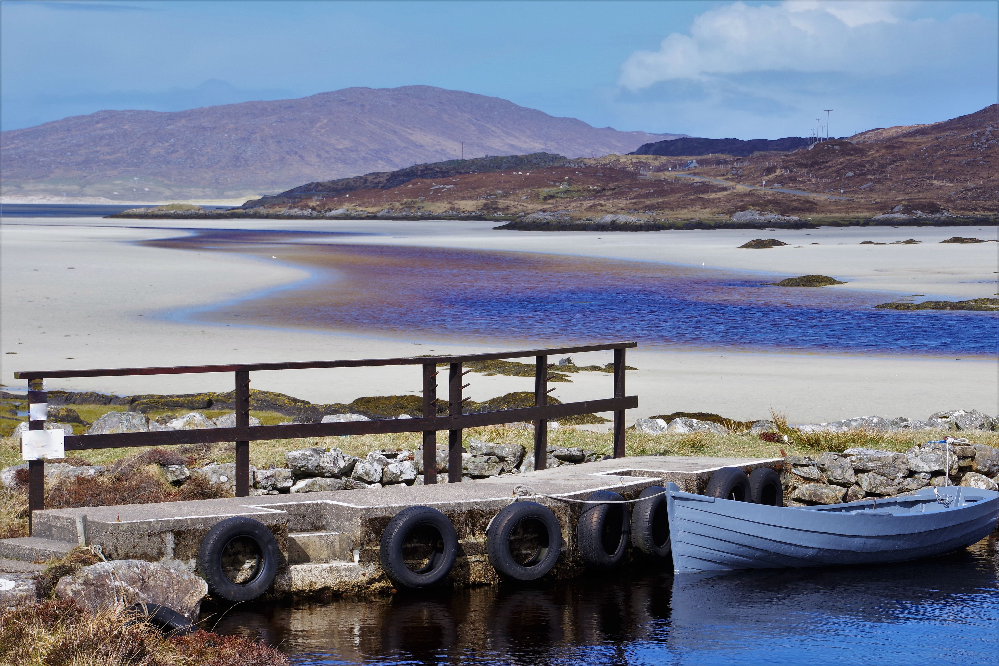 Tranquil Scenes and Spring Sunshine in Eilean Siar, Outer Hebrides, Scotland