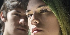 Jonas and Nicole Maines, both 18, photographed in Denver, CO.