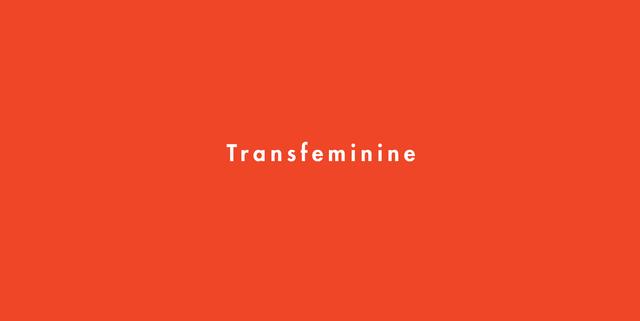 トランスフェミニン