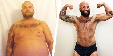 How This Man Overcame Injuries and Achieved a 200-Pound Weight Loss Transformation