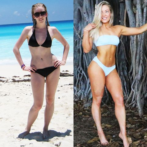 Katie Crewe before and after photo