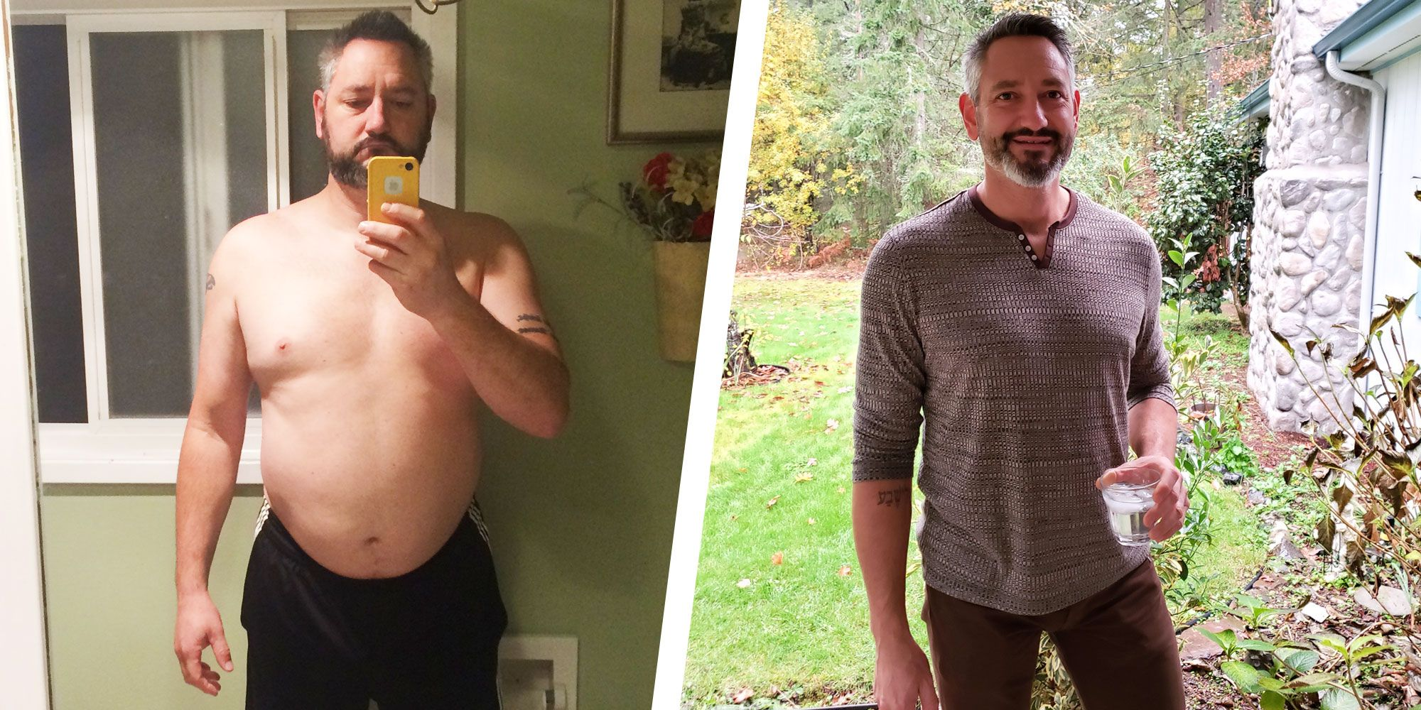 This Guy Got Sober, Had a 40-Pound Weight Loss Transformation, and Changed His Life