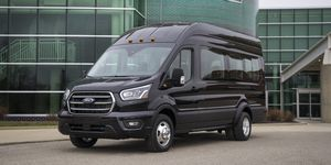 2020 Ford Transit front