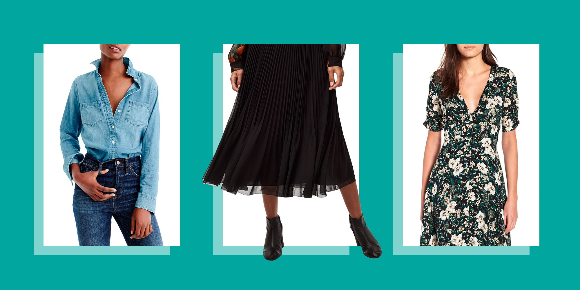 14 Wardrobe Pieces That Ease the Transition From Summer to Fall