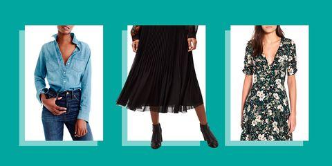 transitional wardrobe clothing fall 2018