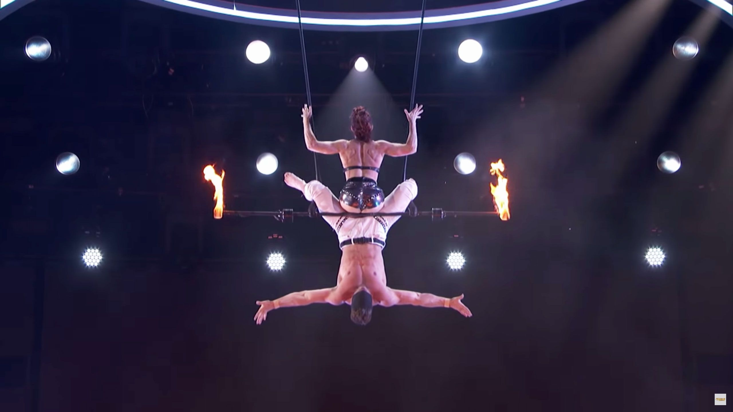 the couple from that america s got talent trapeze fall explains