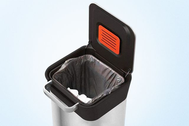 compacting trash can