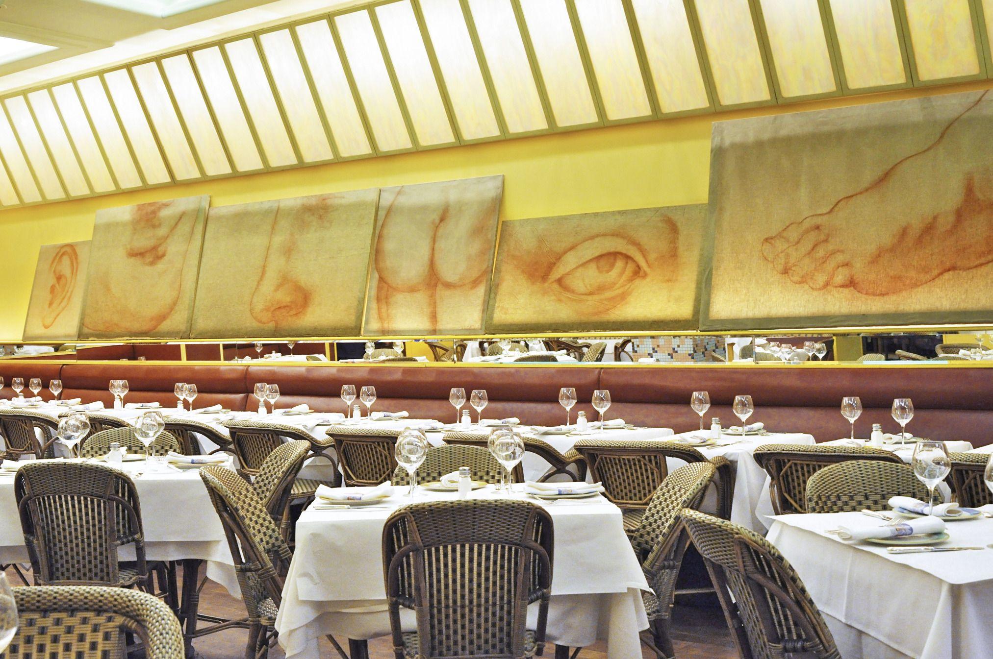 trattoria dell'arte restaurant