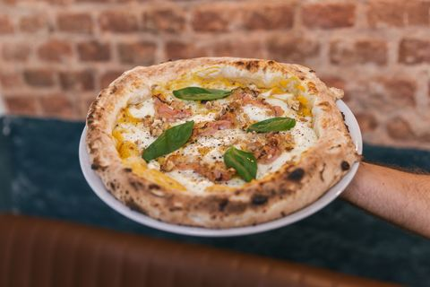 pizza de trattoria popolare