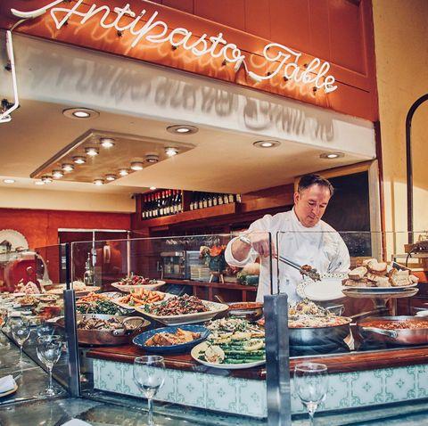 Bakery, Delicatessen, Food, Delicacy, Building, Cuisine, Pâtisserie, Pastry, Buffet, Retail,