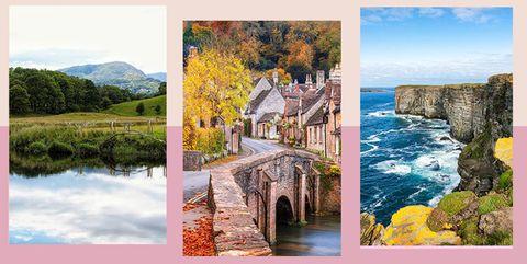 Natural landscape, Nature, Art, Collage, Painting, Landscape, Stock photography, Photography, Watercolor paint, Watercourse,
