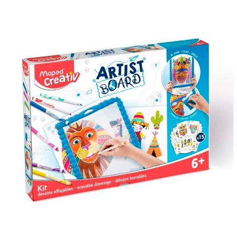 travel toys for kids - artist board