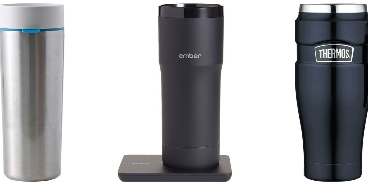 10 Best Travel Coffee Mugs - Reusable Thermos Cups for Hot Drinks