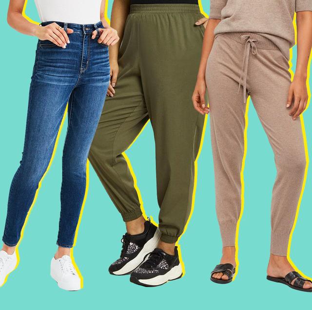 Clothing, Jeans, Green, Leg, Standing, Denim, Trousers, Sportswear, Waist, Human leg,