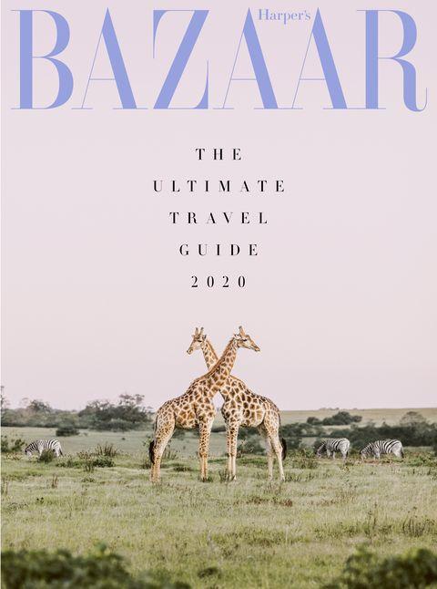Harper's Bazaar travel guide 2020