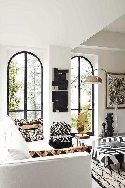 Room, Interior design, Floor, Interior design, Home, Fixture, House, Grey, Picture frame, Design,