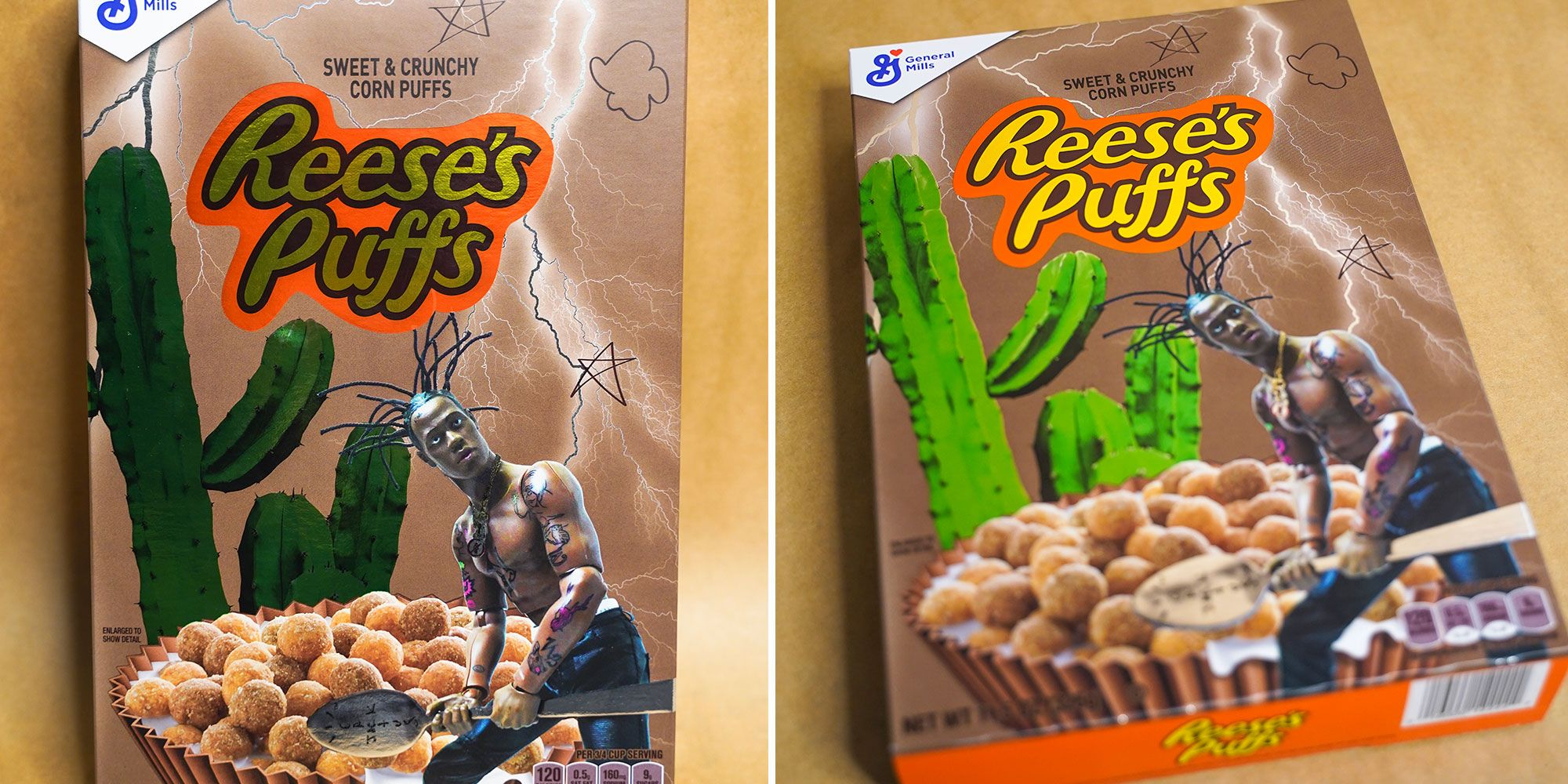 Travis Scott Teamed Up With Reese S Puffs To Make An Astroworld Themed Box