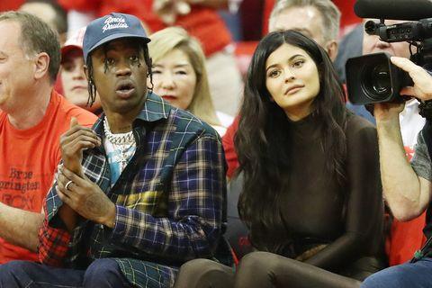 Kylie Jenner, Travis Scott, wonen samen, geruchten, reacties, Instagram, reageren, niet waar, samenwonen, niet apart, StormiWebster