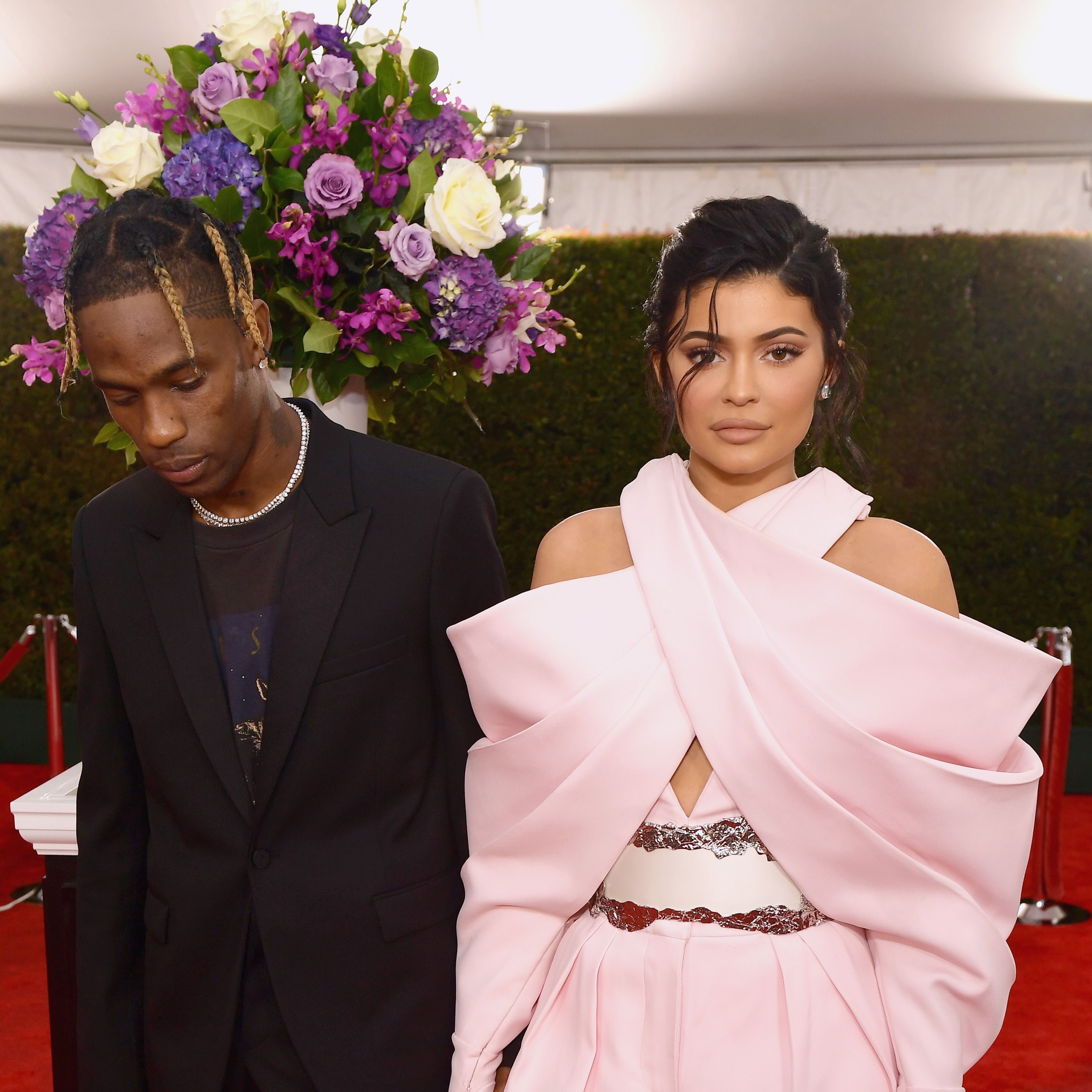 Kylie Jenner & Travis Scott Just Gave Stormi the Most Precious Diamond Necklace