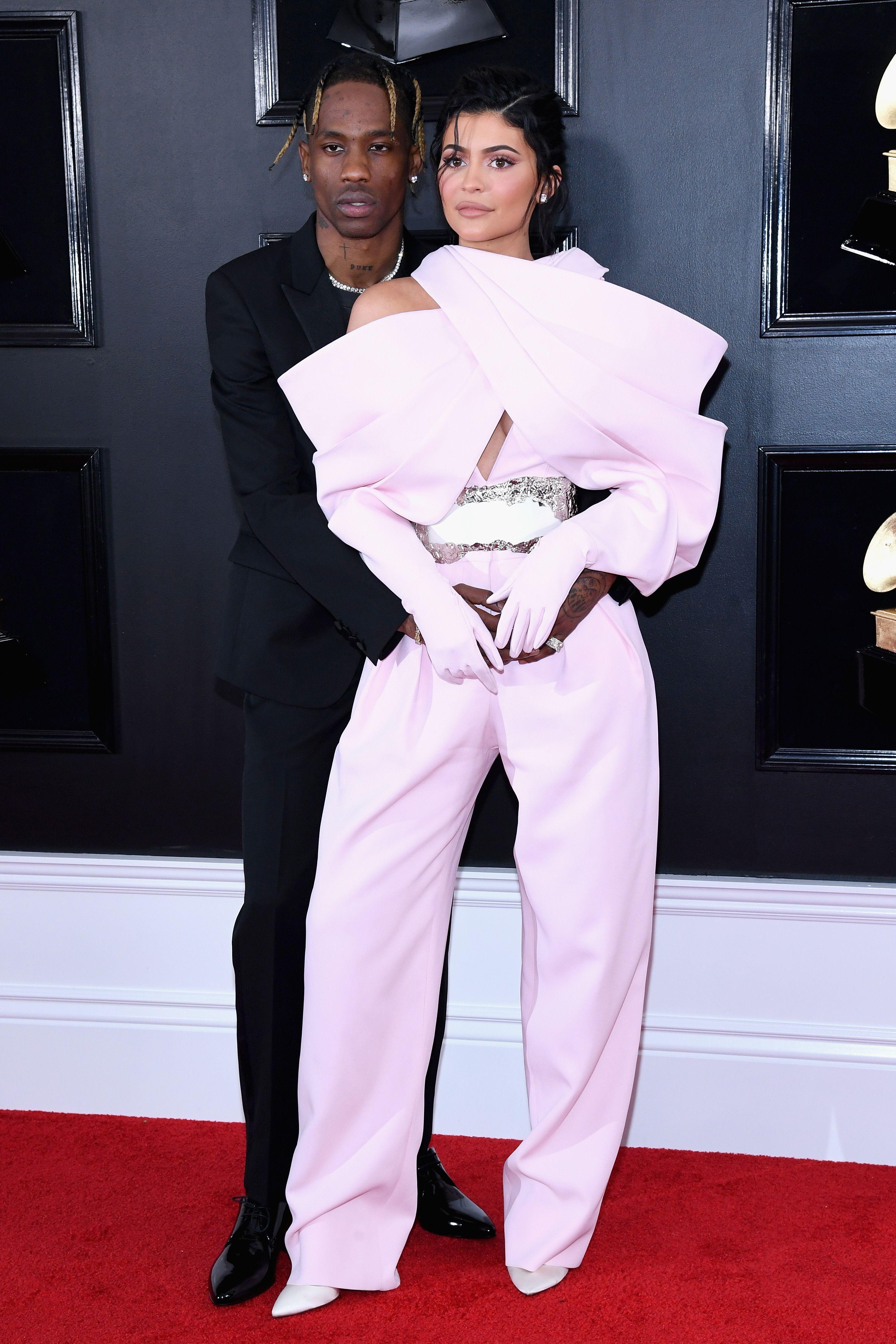 Kylie Jenner Travis ScottGRAMMY Awards