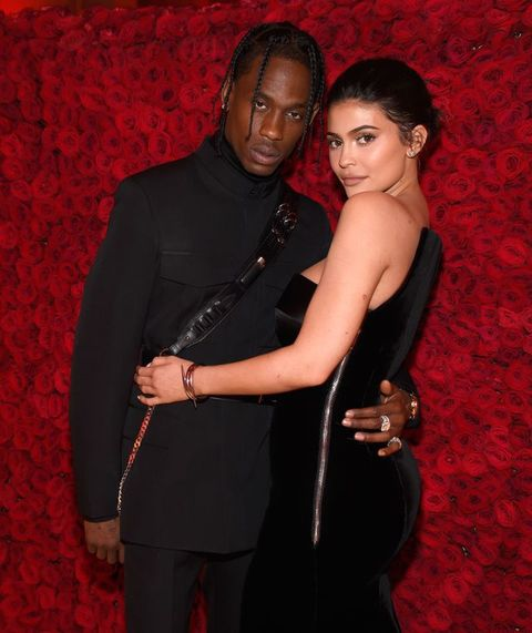 ecfb5a516a14 Travis Scott Addresses Kylie Jenner Cheating Rumors - Travis Scott Referred  to Those Kylie Jenner Cheating Rumors at His Concert Last Night