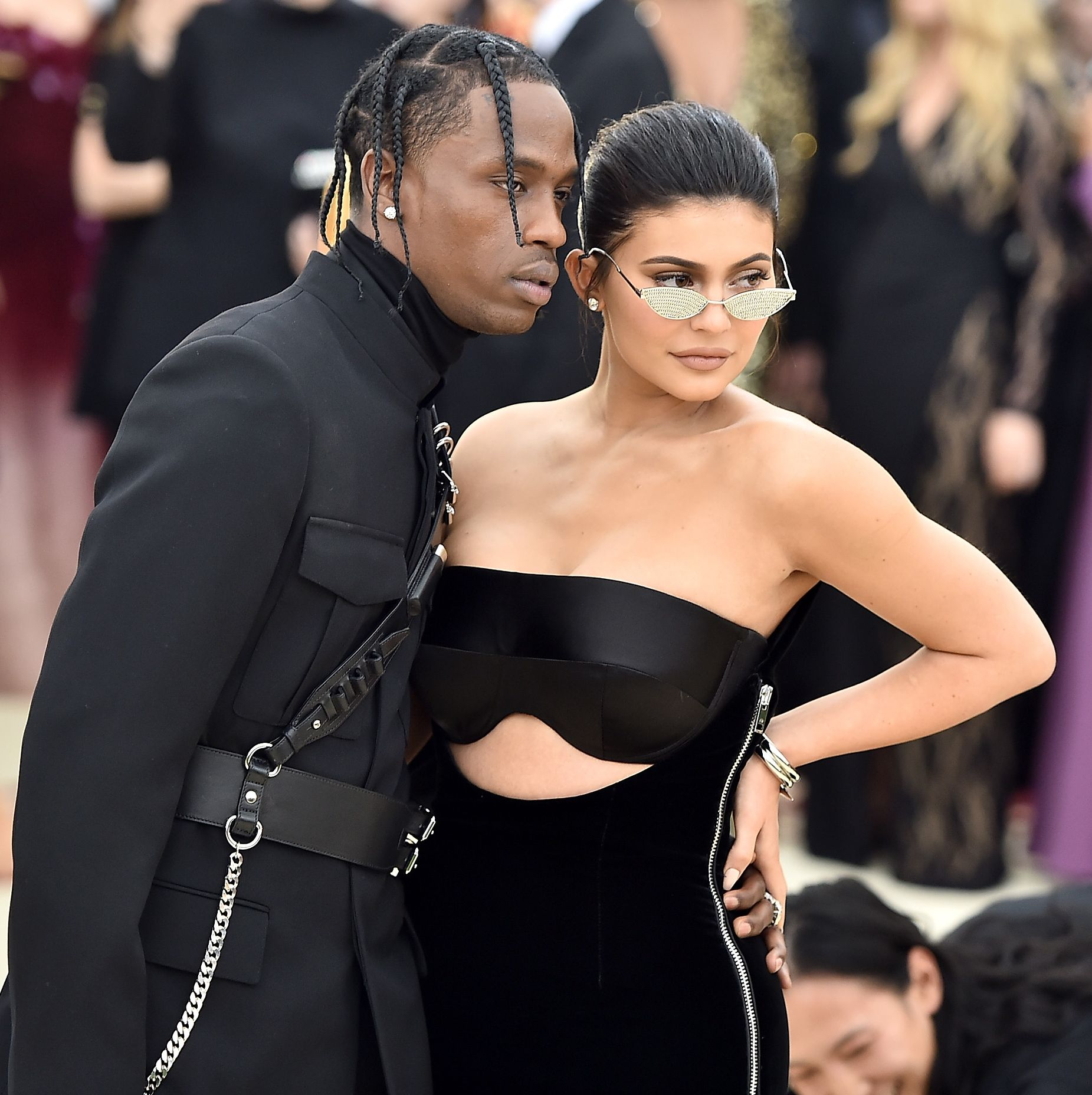 Kylie Jenner Is Reportedly 'Finding It Hard to Trust' Travis Scott While He's Away