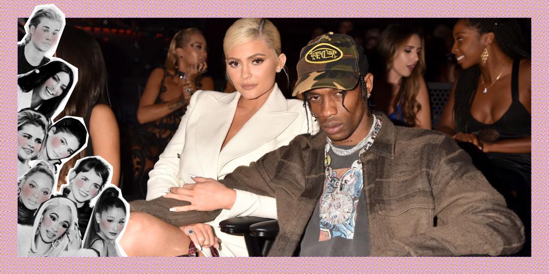 Kylie Jenner en Travis Scott MTV awards