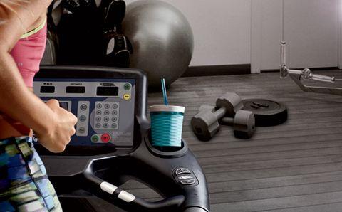 Treadmill Accessories Runner's World Extraordinary Acrylic Magazine Holder For Treadmill