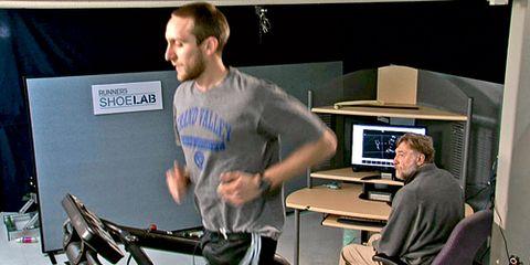 Treadmill at Shoe Lab