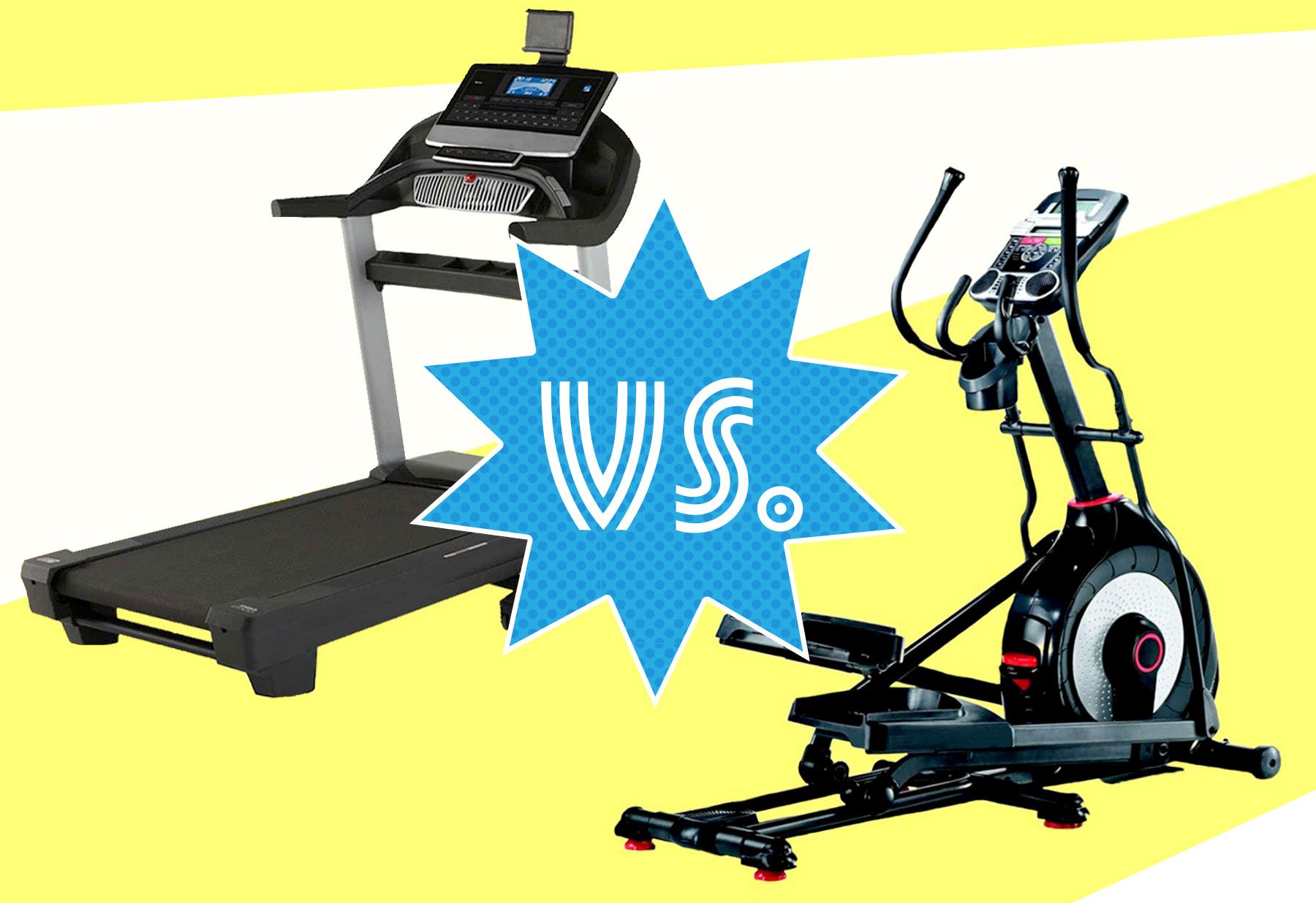Treadmill Vs Elliptical When To Use The Treadmill Or Elliptical