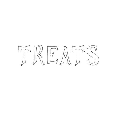 tricks and treats pumpkin stencil