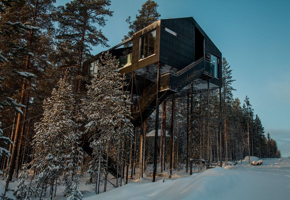 Snøhetta/ Treehotel.se/ The 7th Room