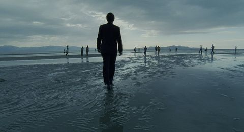 Water, Sky, Sea, Standing, Ocean, Horizon, Wave, Tide, Reflection, Photography,
