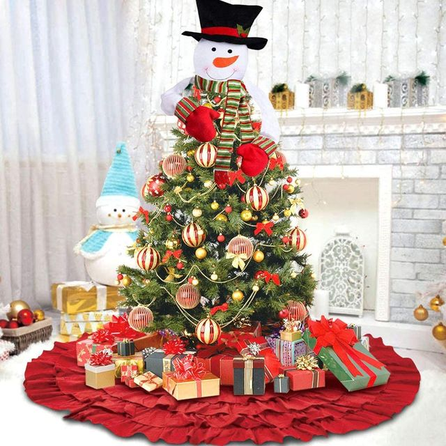2020 Christmas Tree Tipper 40 Unique Christmas Tree Topper Ideas   Best Ways to Top Holiday Trees