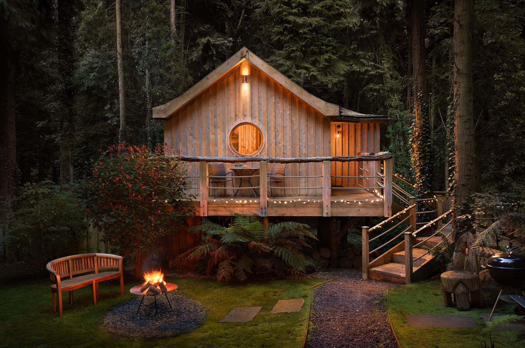 10 incredible treehouses to visit in the UK