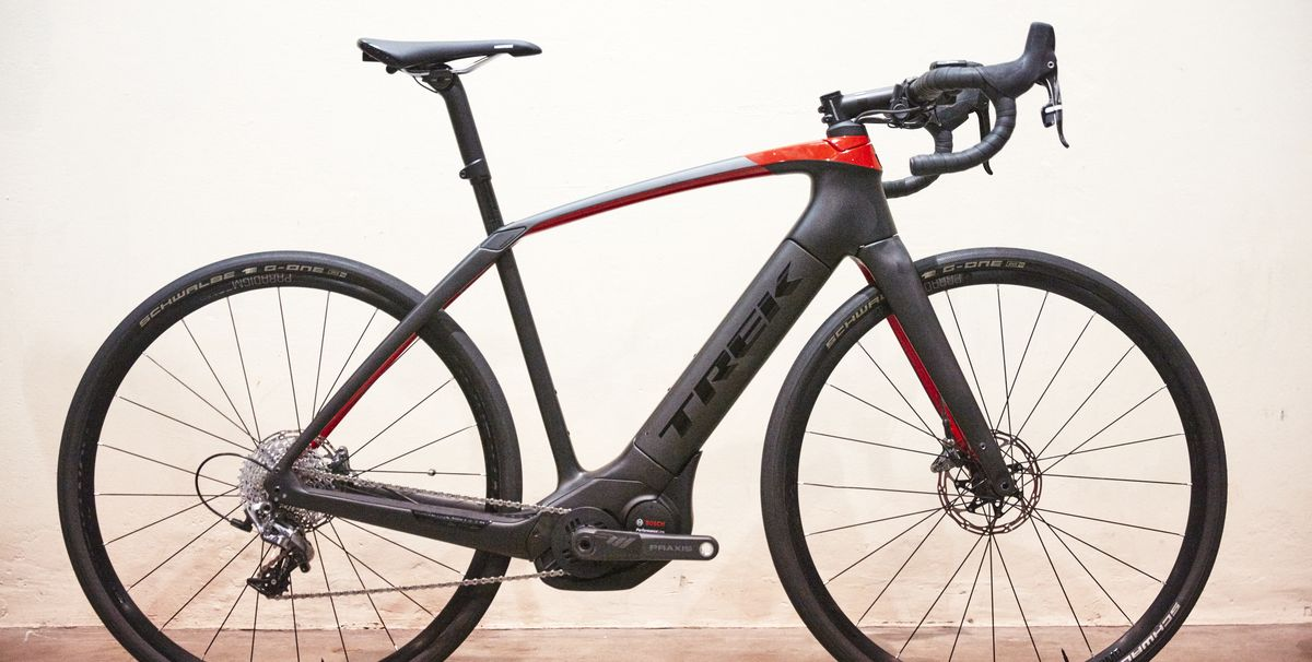 trek domane e road bike review trek e bikes. Black Bedroom Furniture Sets. Home Design Ideas