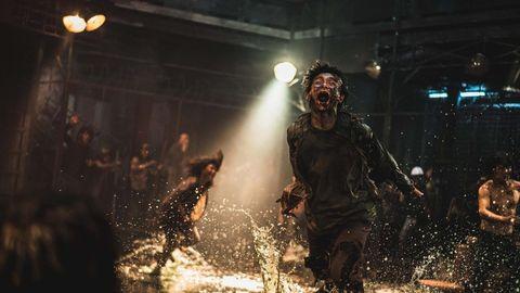 imagenes oficiales de la pelicula de zombies coreana, tren a busan 2, peninsula