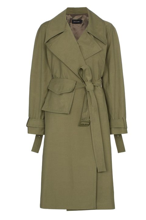 Low Classic trench coat