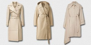 best trench coats - long trench coat