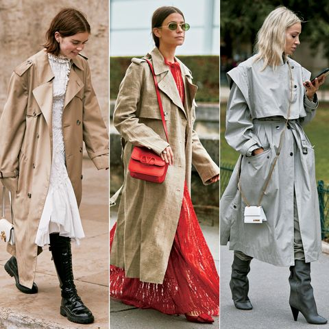 Clothing, Coat, Trench coat, Overcoat, Street fashion, Outerwear, Fashion, Footwear, Duster, Ankle,